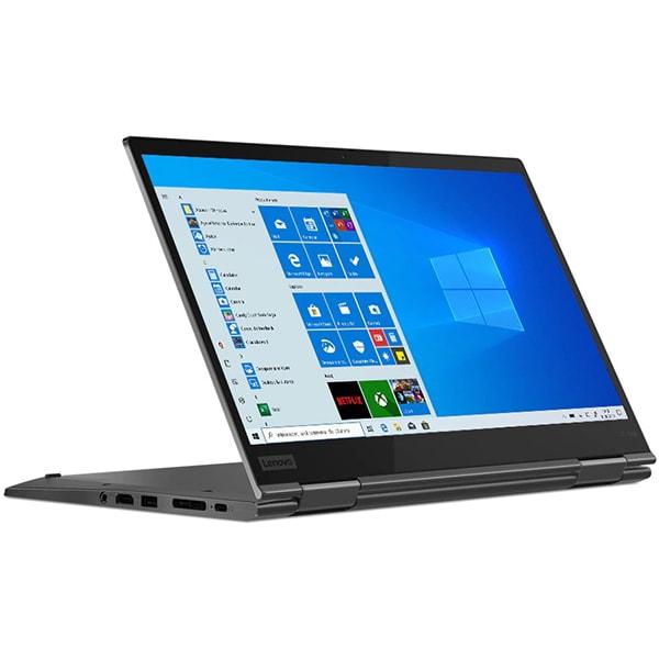 "Laptop 2 in 1 LENOVO ThinkPad X1 Yoga Gen 5, Intel Core i7-10510U pana la 4.9GHz, 14"" Full HD Tocuh, 16GB, SSD 512GB, Intel UHD Graphics, Windows 10 Pro, Iron Grey"