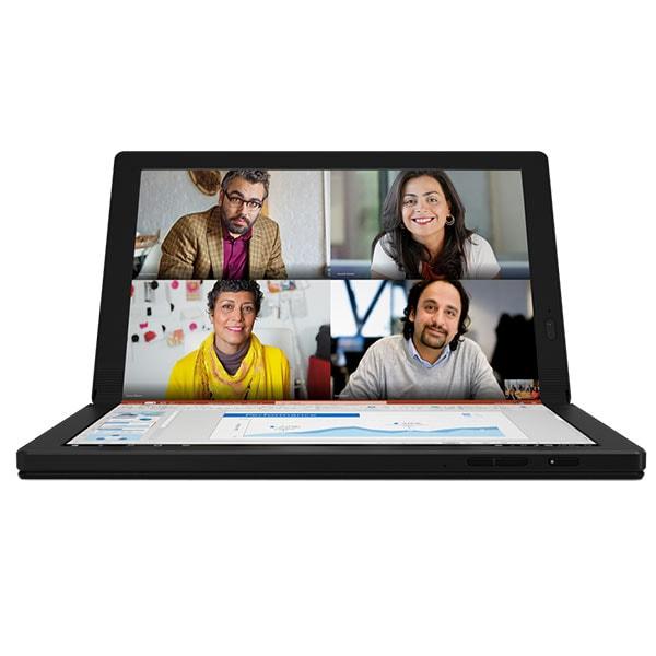 """Laptop LENOVO ThinkPad X1 Fold Gen 1, Intel Core i5-L16G7 pana la 3.0GHz, 13.3"""" QXGA, 8GB, SSD 256GB, Intel UHD Graphics, Windows 10 Pro, negru"""