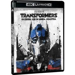 Transformers 1: Razboiul lor in lumea noastra Blu-ray 4K Ultra HD