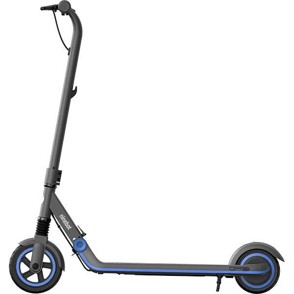 Trotineta electrica NINEBOT eKickScooter ZING E10 Powered by Segway, 7 inch, pliabila, negru