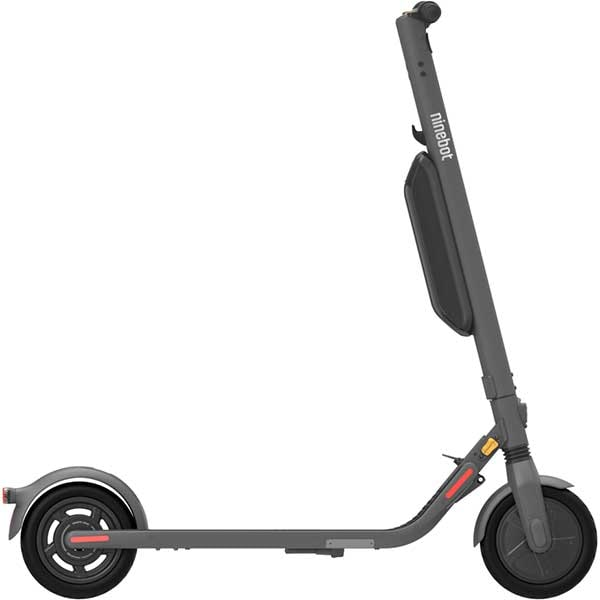 Trotineta electrica NINEBOT KickScooter E45E Powered by Segway, 9 inch, pliabila, negru