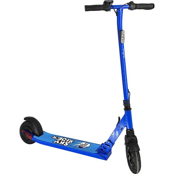Trotineta electrica pliabila MYRIA Sky Rider, 8 inch, albastru