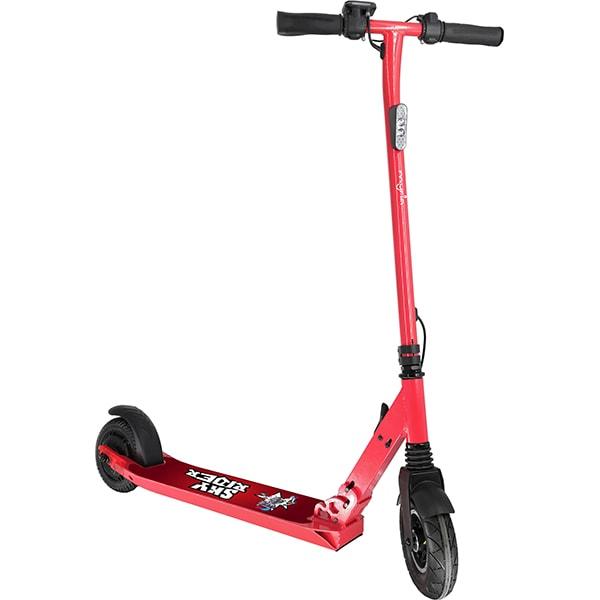 Trotineta electrica pliabila MYRIA Sky Rider, 8 inch, rosu