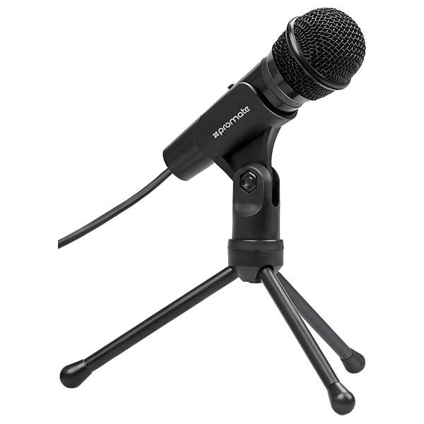 Microfon PROMATE Tweeter-9, Jack 3.5-mm, 1.8m, negru