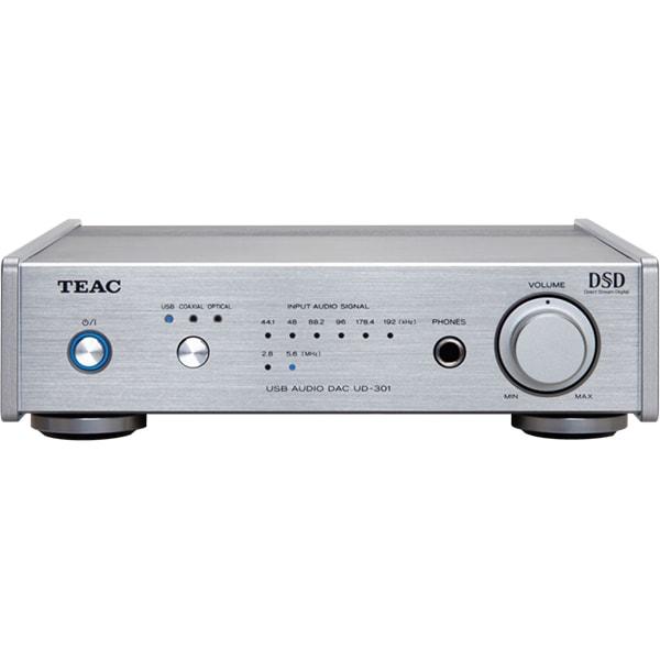 DAC TEAC UD-301-X-S, DSD64, DSD128, argintiu