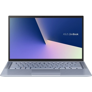 "Laptop ASUS ZenBook 14 UX431FA-AM100, Intel Core i5-8265U pana la 3.9GHz, 14"" Full HD, 8GB, SSD 512GB, Intel UHD 620 Graphics, Endless, Utopia Blue"