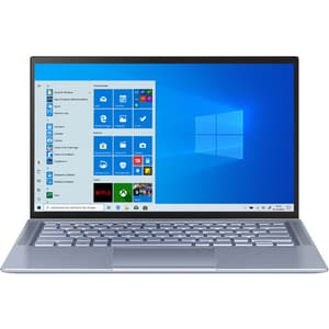 "Laptop ASUS ZenBook 14 UM431DA-AM007R, AMD Ryzen 5 3500U pana la 3.7GHz, 14"" Full HD, 8GB, SSD 512gb, AMD Radeon Vega 8, Windows 10 Pro, Utopia Blue"