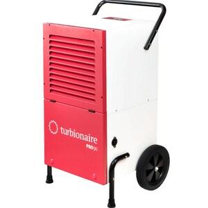 Dezumidificator de aer TURBIONAIRE PRO 90, 95l/zi, 1800W, alb-rosu