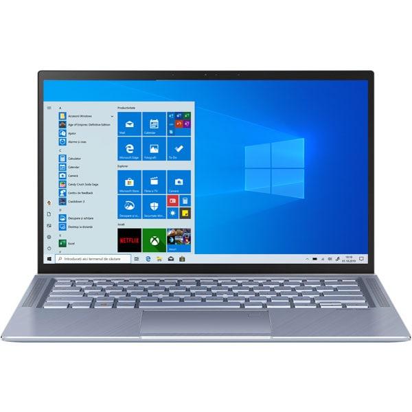 """Laptop ASUS ZenBook 14 UX431FL-AN020T, Intel Core i5-8265U pana la 3.9GHz, 14"""" Full HD, 8GB, SSD 512GB, NVIDIA GeForce MX250 2GB, Windows 10 Home, Utopia Blue"""