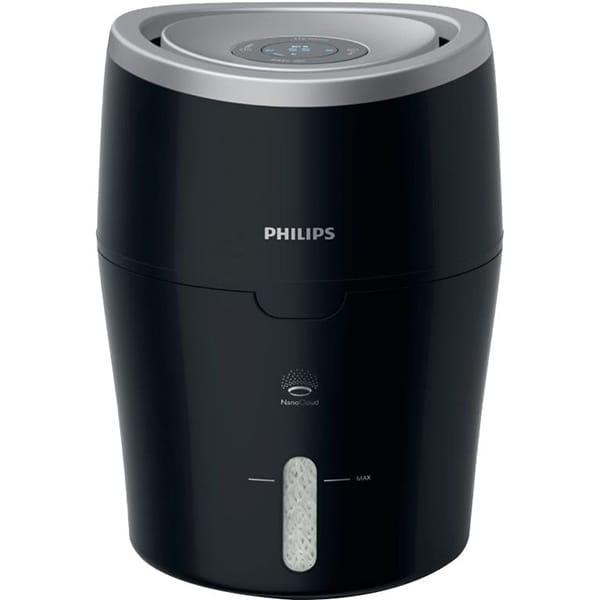 Umidificator PHILIPS HU4813/10, 2l, negru-argintiu