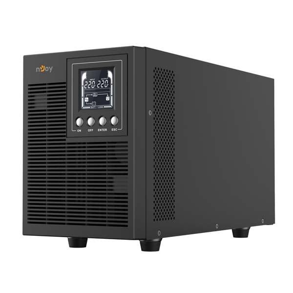 Unitate UPS NJOY Echo Pro 2000, 2000VA, LCD, Schuko