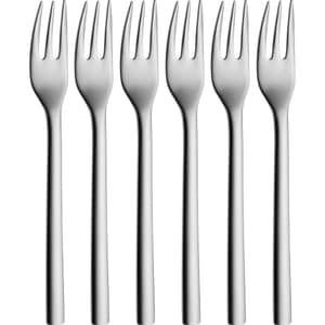 Set furculite pentru prajituri WMF Nuova, 6 piese, otel
