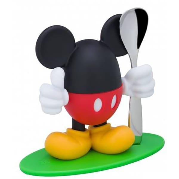 Set sport ou si lingurita WMF Mickey Mouse, plastic, multicolor