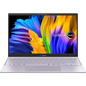 "Laptop ASUS Zenbook 13 OLED UX325EA-KG347, Intel Core i5-1135G7 pana la 4.2GHz, 13.3"" Full HD, 8GB, SSD 512GB, Intel Iris Xe Graphics, Free Dos, Lilac Mist"