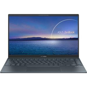 """Laptop ASUS ZenBook 14 UX425EA-KI501, Intel Core i5-1135G7 pana la 4.2GHz, 14"""" Full HD, 8GB, SSD 1TB, Intel Iris Xe, Free DOS, Pine Grey"""
