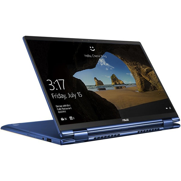 "Laptop 2 in 1 ASUS ZenBook Flip 13 UX362FA-EL206T, Intel Core i7-8565U pana la 4.6GHz, 13.3"" Full HD Touch, 16GB, SSD 512GB, Intel UHD Graphics 620, Windows 10 Home, Royal Blue"