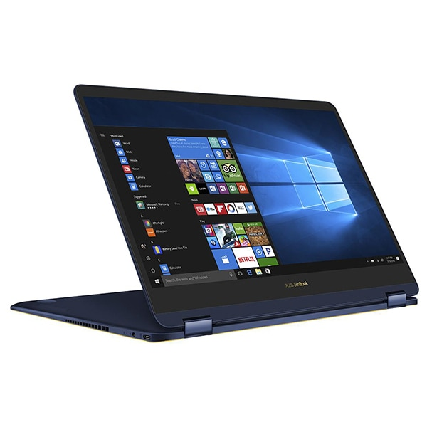 "Laptop 2 in 1 ASUS ZenBook Flip S UX370UA-C4196T, Intel® Core™ i5-8250U pana la 3.4GHz, 13.3"" Full HD, 8GB, SSD 256GB, Intel® UHD Graphics 620, Windows 10 Home"