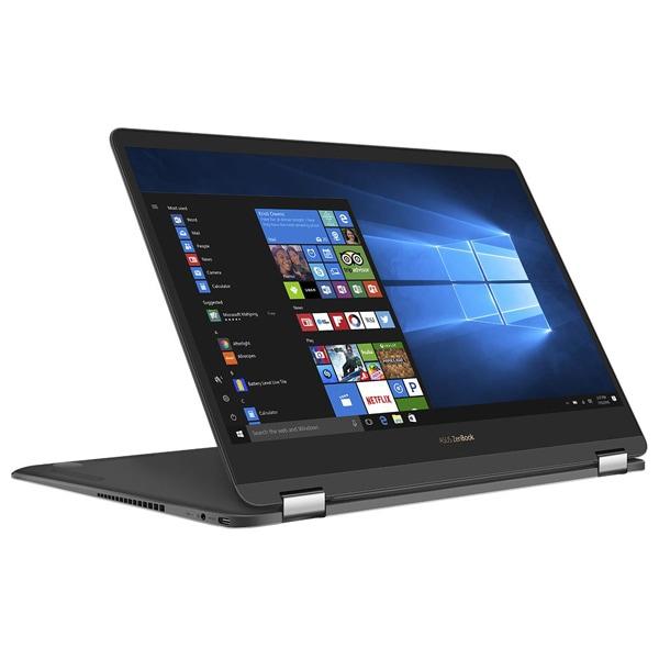 "Laptop 2 in 1 ASUS ZenBook Flip S UX370UA-C4219T, 13.3"" Full HD Touch, Intel Core i7-8550U pana la 4.0GHz, 8GB, SSD 256GB, Intel UHD Graphics 620, Windows 10 Home"