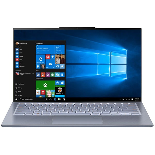 "Laptop ASUS ZenBook S13 UX392FN-AB011T, Intel Core i7-8565U pana la 4.6, 13.9"" Full HD, 8GB, SSD 512GB, NVIDIA GeForce MX150 2GB, Windows 10 Home, Utopia Blue"