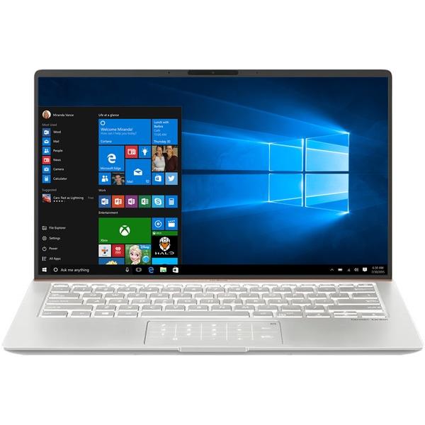 "Laptop ASUS ZenBook 14 UX433FAC-A5156T, Intel Core i7-10510U pana la 4.9GHz, 14"" Full HD, 16GB, SSD 512GB, Intel UHD Graphics 620, Windows 10 Home, Icicle Silver"