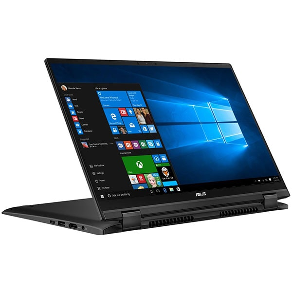 "Laptop 2 in 1 ASUS ZenBook Flip 14 UX463FA-AI040T, Intel Core i7-10510U pana la 4.9GHz, 14"" Full HD Touch, 16GB, SSD 512GB, Intel UHD Graphics 620, Windows 10 Home, Gun Grey"