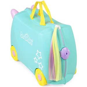 Troler copii TRUNKI Una Unicorn, 46 cm, multicolor