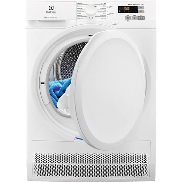 Uscator de rufe ELECTROLUX PerfectCare600 EW6C527P, Condensare, 7kg, 9 programe, Clasa B, alb