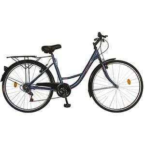 """Bicicleta de oras VELORS V2636A, 26"""", albastru"""