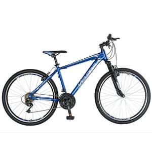 """Bicicleta Mountain Bike-HT VELORS Double V2671A, 26"""", cadru aluminiu, albastru/gri"""