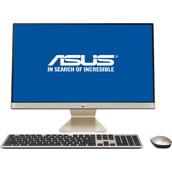 "Sistem PC All in One ASUS Vivo V241FFK-BA008D, 23.8"" Full HD, Intel Core i7-8565U pana la 4.1GHz, 8GB, 1TB + SSD 128GB, NVIDIA GeForce MX130 2GB, Endless"