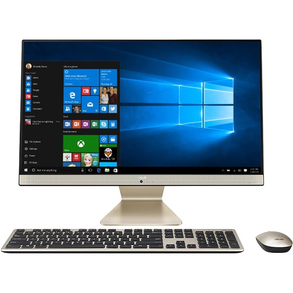 "Sistem PC All in One ASUS Vivo V241FAT-BA038T, 23.8"" Full HD Touch, Intel Core i3-8145U pana la 3.9GHz, 8GB, 1TB + SSD 128GB, Intel UHD Graphics 620, Windows 10 Home"