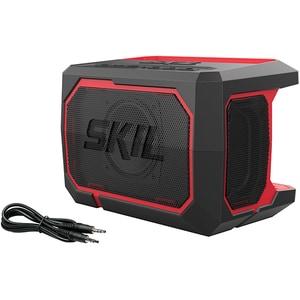 Boxa portabila SKIL 3151 CA, Bluetooth, 10W, Jack 3.5mm, negru-rosu