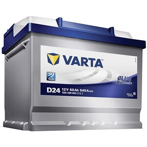Baterie auto VARTA Blue D24, 12V, 60Ah,540A