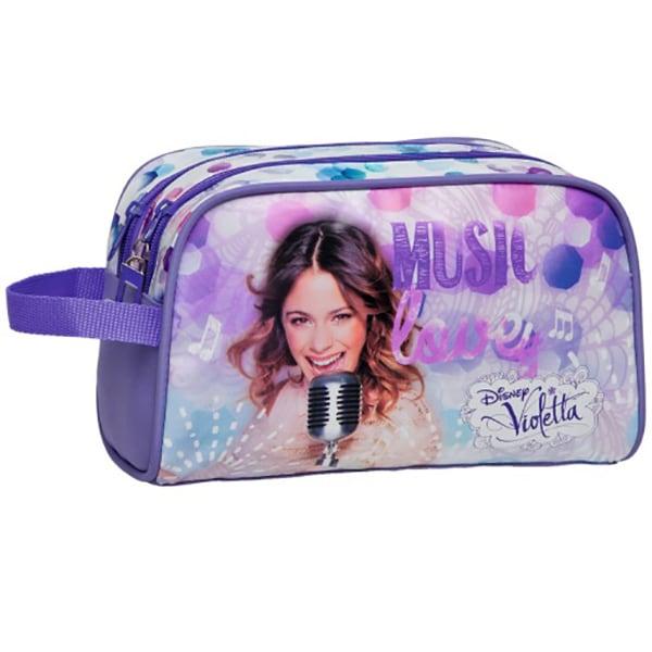 Borseta penar DISNEY Violetta Microfon 17944, multicolor