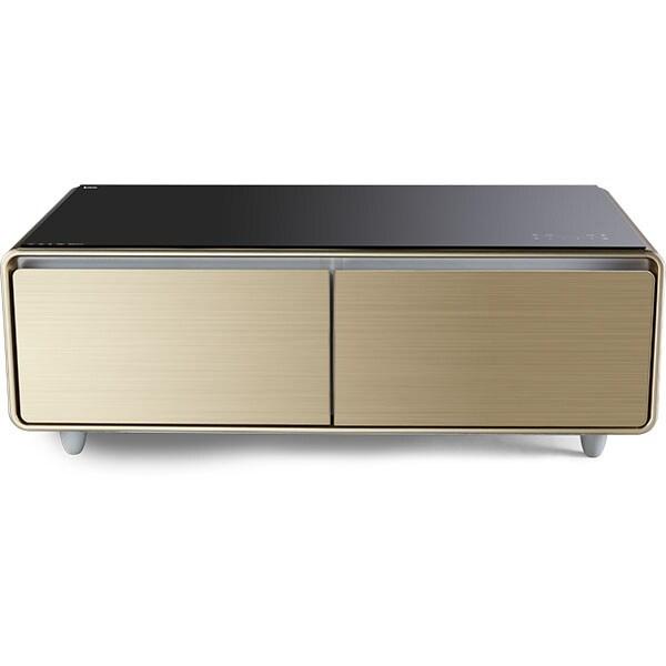 Masa frigorifica smart VORTEX VBC13SGD01S, 130 l, H 45.9 cm, Clasa C, auriu