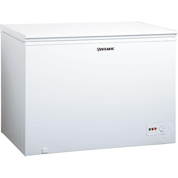 Lada frigorifica VORTEX VCF30SWH01M, 300 l, H 85 cm, Clasa E, alb