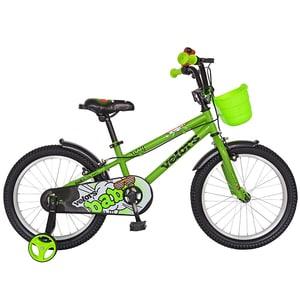 "Bicicleta copii VELORS V1801A, 18"", otel, verde"