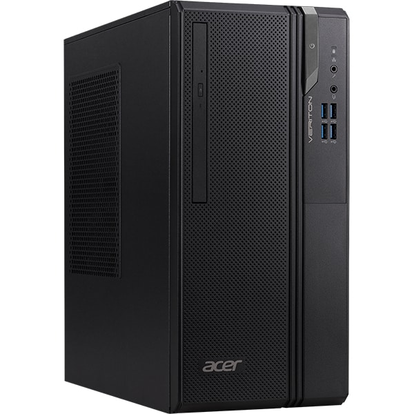 Sistem Desktop ACER Veriton Essential S ES2735G, Intel Core i7-9700 pana la 4.7GHz, 16GB, SSD 512GB, Intel UHD Graphics 630, Free Dos