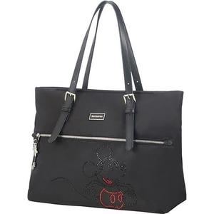 Geanta shopping SAMSONITE Karissa Disney Mickey Autentic, 38 cm, negru