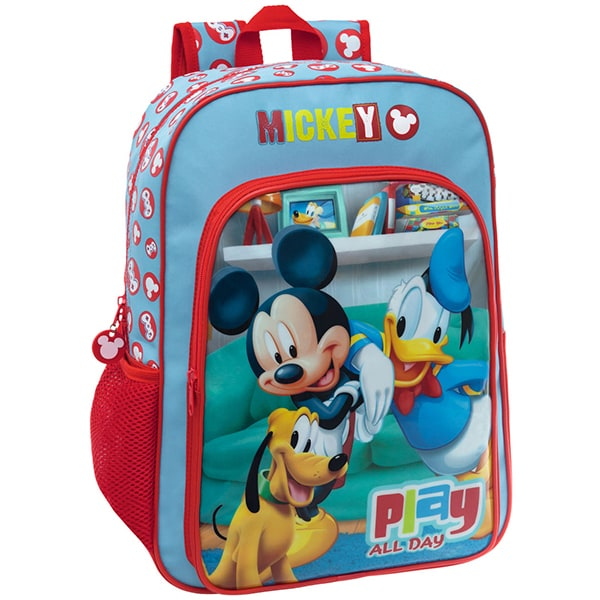 Ghiozdan de scoala DISNEY Mickey Play 45223A.51, multicolor