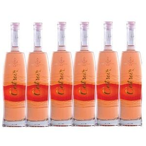 Vin rose sec Hermeziu C'est Soir Feteasca Neagra, 0.75L, 6 sticle