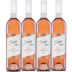 Vin rose dulce Vincon Sempre Rose Busuioaca de Bohotin Dulce, 0.75L, 4 sticle