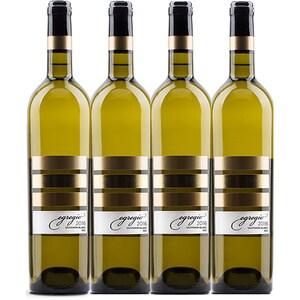 Vin alb sec Vincon Egregio Sauvignon Blanc Sec, 0.75L, 4 sticle