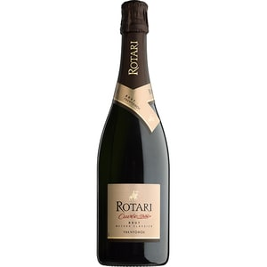 Vin spumant alb Rotari Brut Metodo Classico Trento DOC, 0.75L