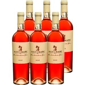 Vin rose sec Pinot Noir Rose, 0.75L, 6 sticle