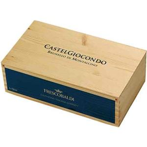 Vin rosu sec Castel Giocondo Brunello Montalcino DOCG, 0.75L, 2 sticle + Cutie