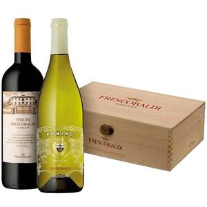 Vin rosu sec Castello Pomino, 0.75L, 2 sticle + Cutie