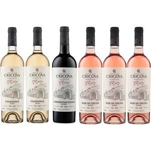 Pachet cadou CRICOVA Vitage Vin rosu, Vin rose
