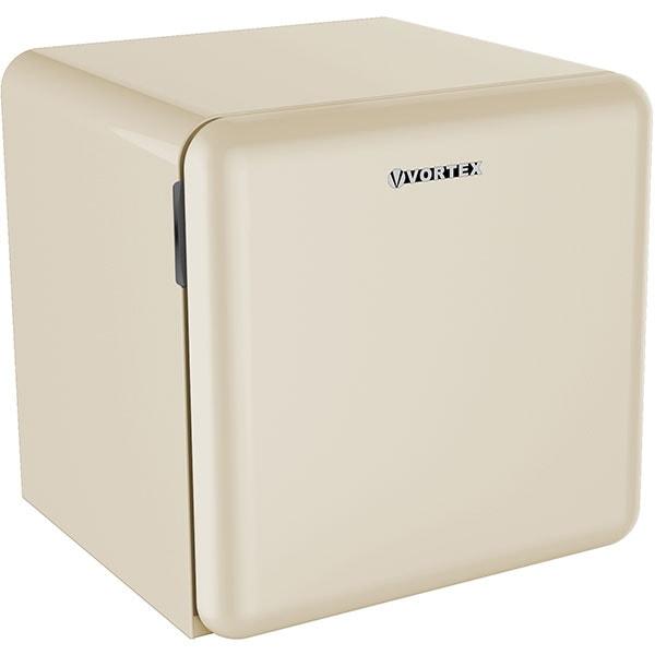 Frigider minibar VORTEX VM5SBG03M, 47 l, H 50 cm, Clasa F, bej