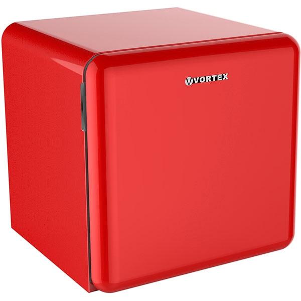 Frigider minibar VORTEX VM5SRD04M, 47 l, H 50 cm, Clasa F, rosu